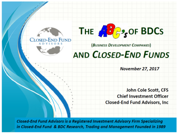 ABCs of BDCs Slide Image